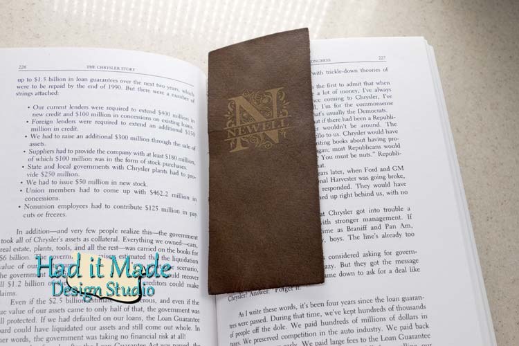Monogram Bookmark BM-M3