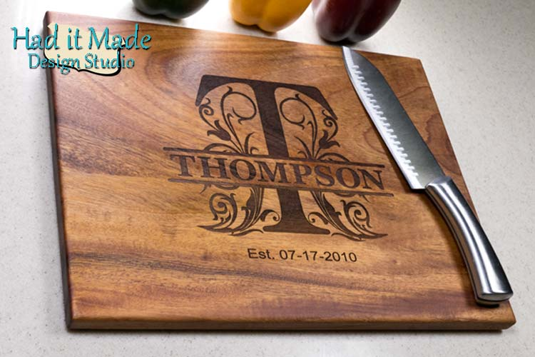 Monogram Cutting Board M3D