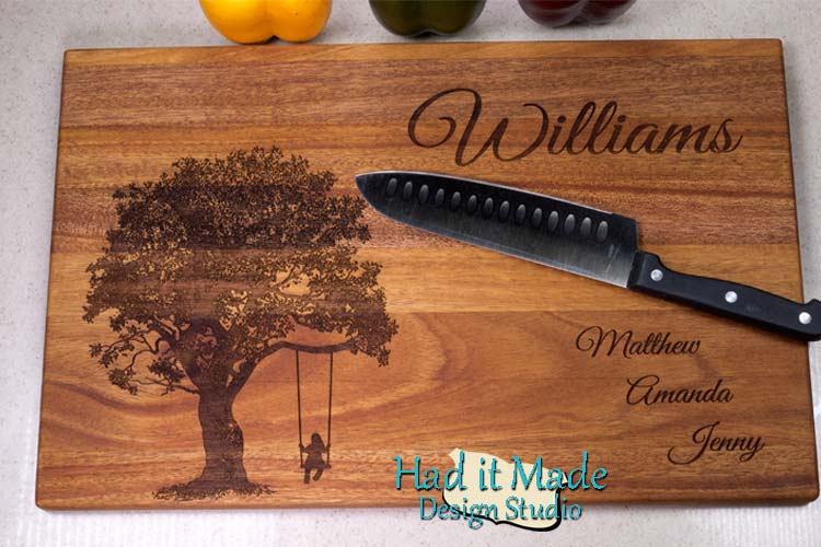 Tree Swing Cutting Board T8