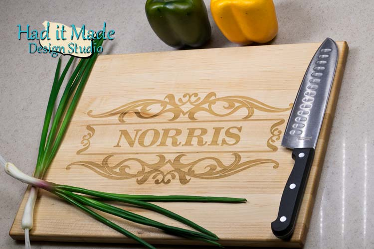 Border Design Cutting Board F8