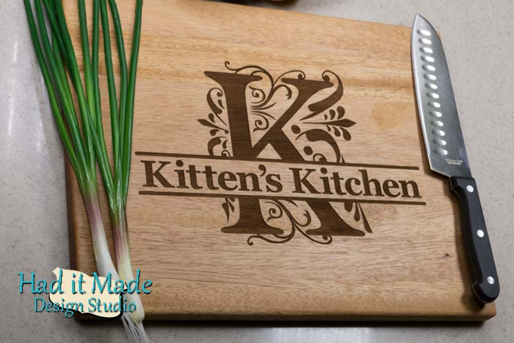 Monogram Cutting Board M3K