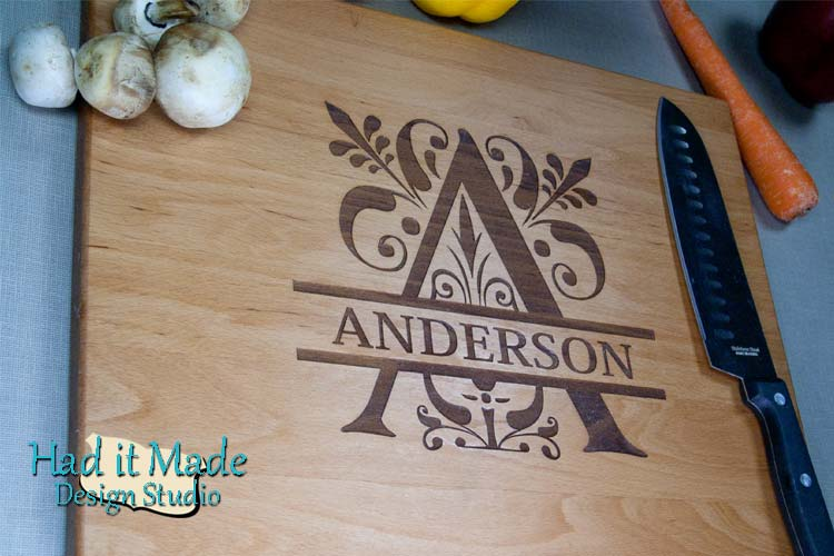 Monogram Cutting Board M3