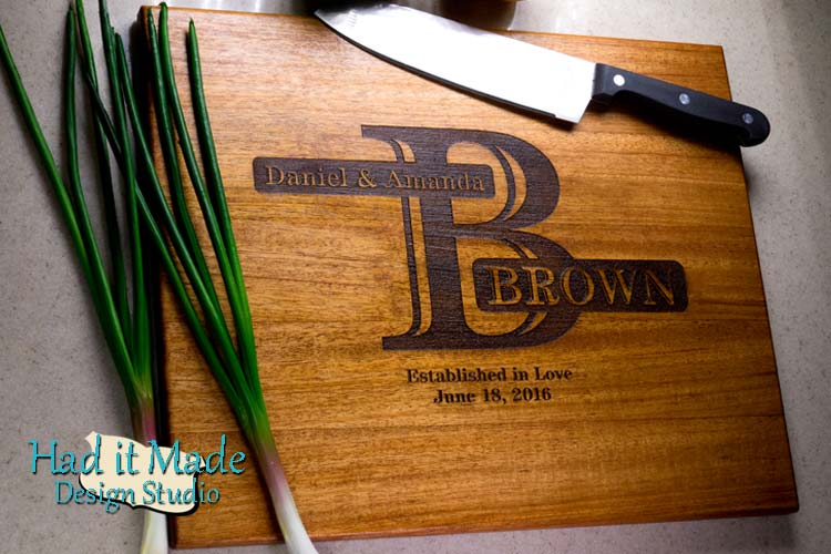 Monogram Cutting Board M13