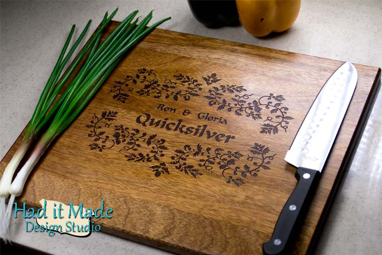 Monogram Cutting Board F4