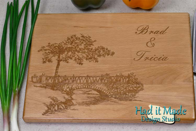 Bridge Scene Cutting Board B1