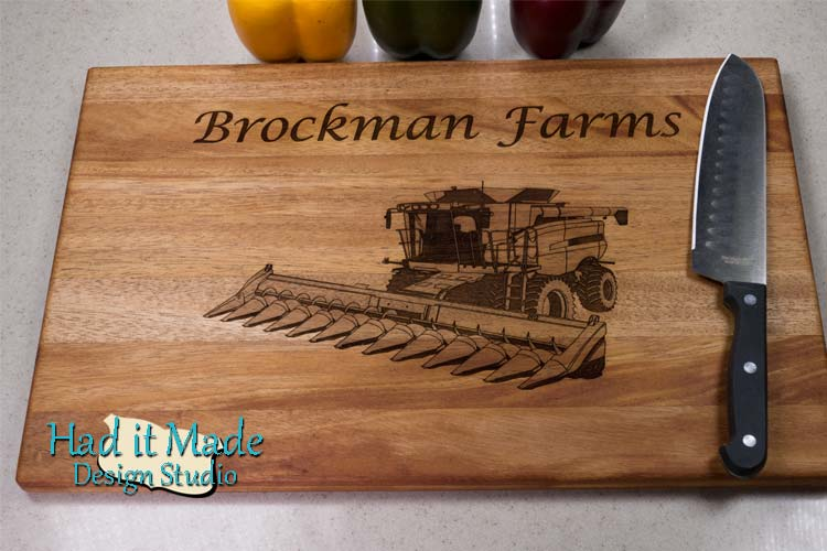 Farm Combine Cutting Board FC2