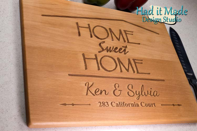 Home Sweet Home Cutting Board HSH2