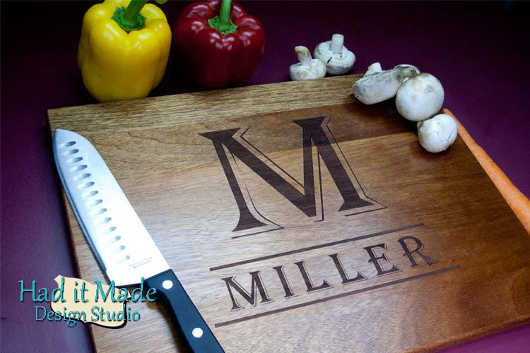 Monogram Cutting Board M2