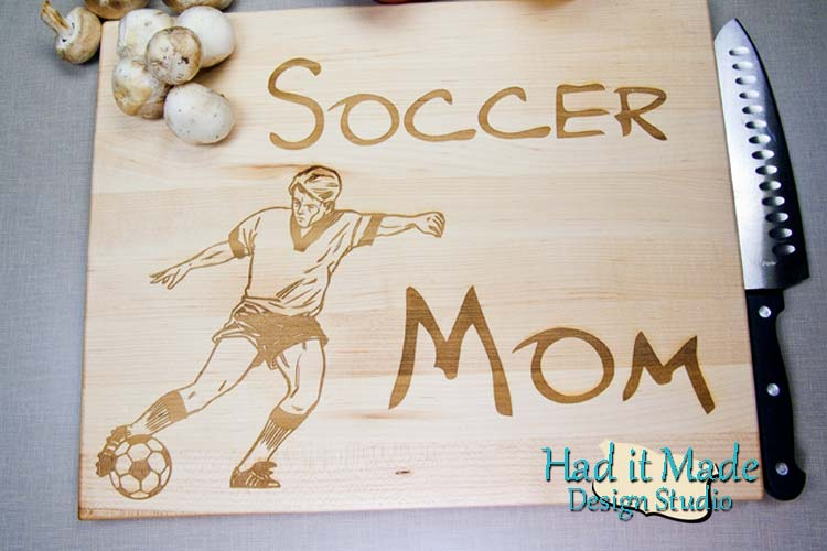 Soccer Mom Cutting Board SOCCER1