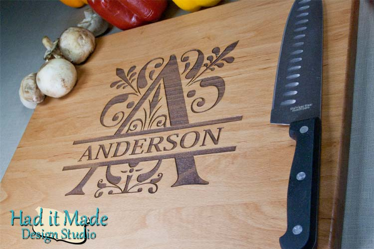 Monogram Cutting Board M3