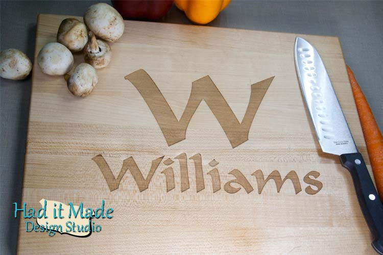 Monogram Cutting Board M5