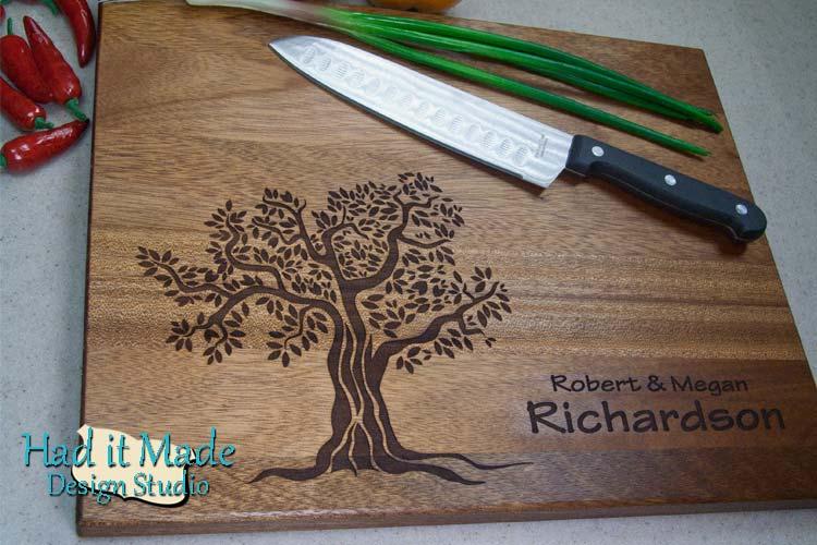 Tree Cutting Board T4