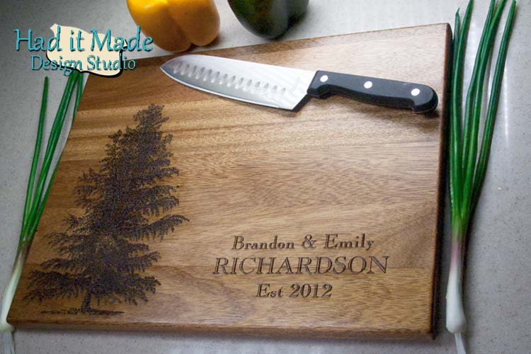 Evergreen Cutting Board E1