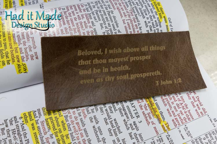Healing Scripture Bookmark BM-Healing