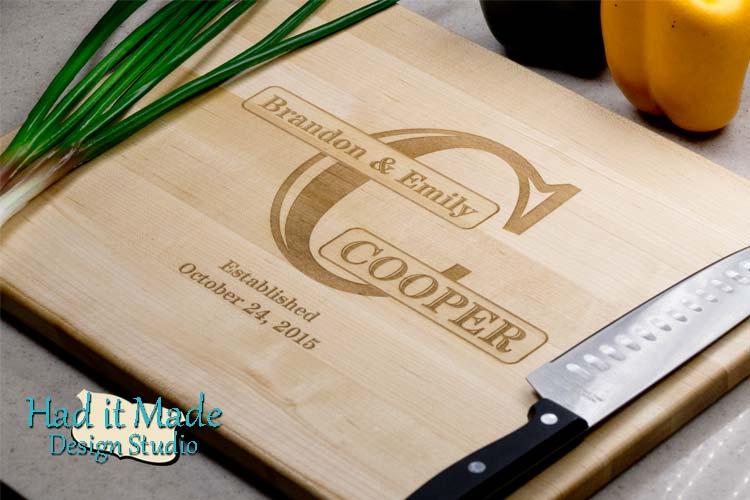 Monogram Cutting Board M15