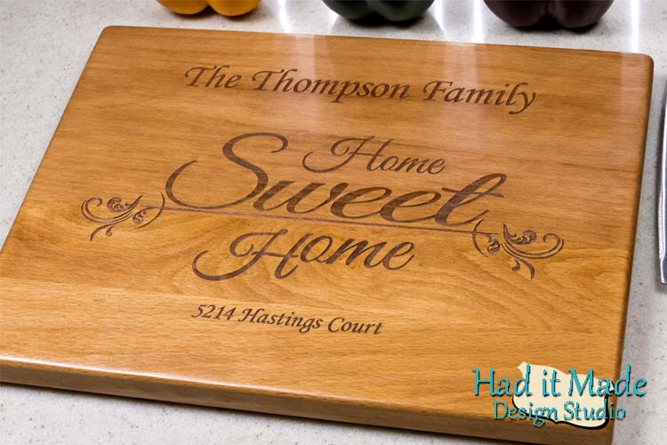Home Sweet Home Cutting Board HSH1