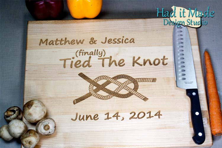Tied The Knot Cutting Board TIEDTHEKNOT1