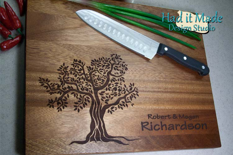 Tree Cutting Board T4