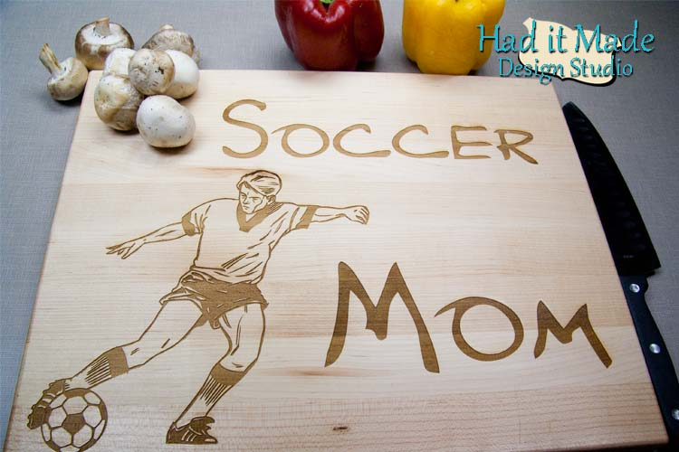 Soccer Mom Cutting Board SOCCER1