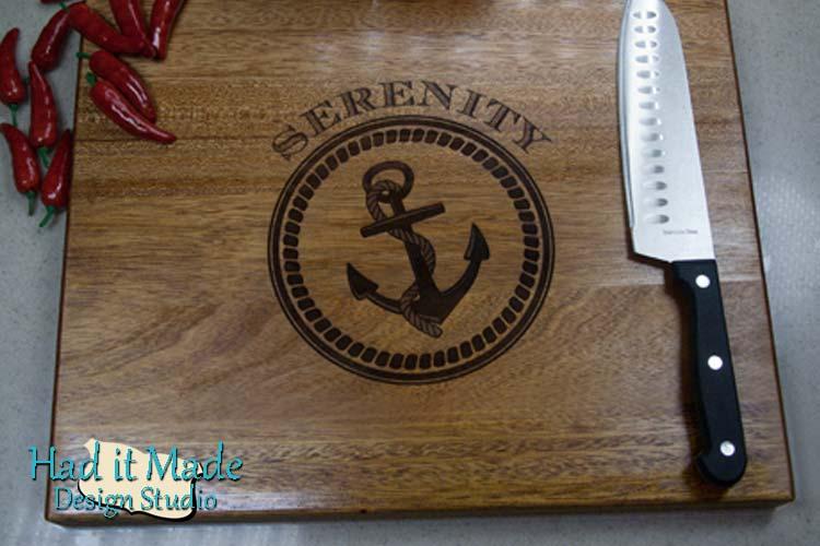 Nautical Cutting Board N1